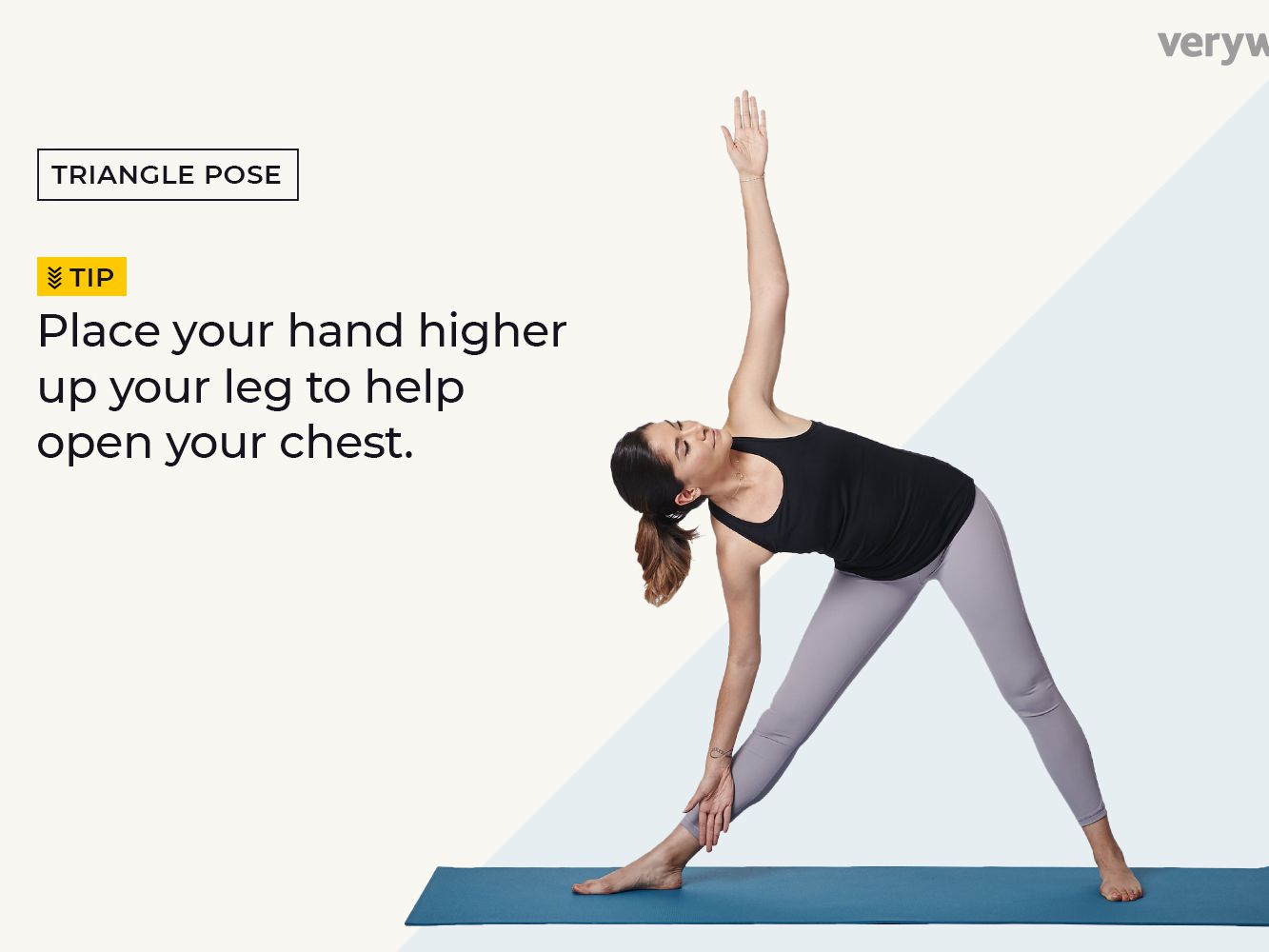 Triangle Pose How To