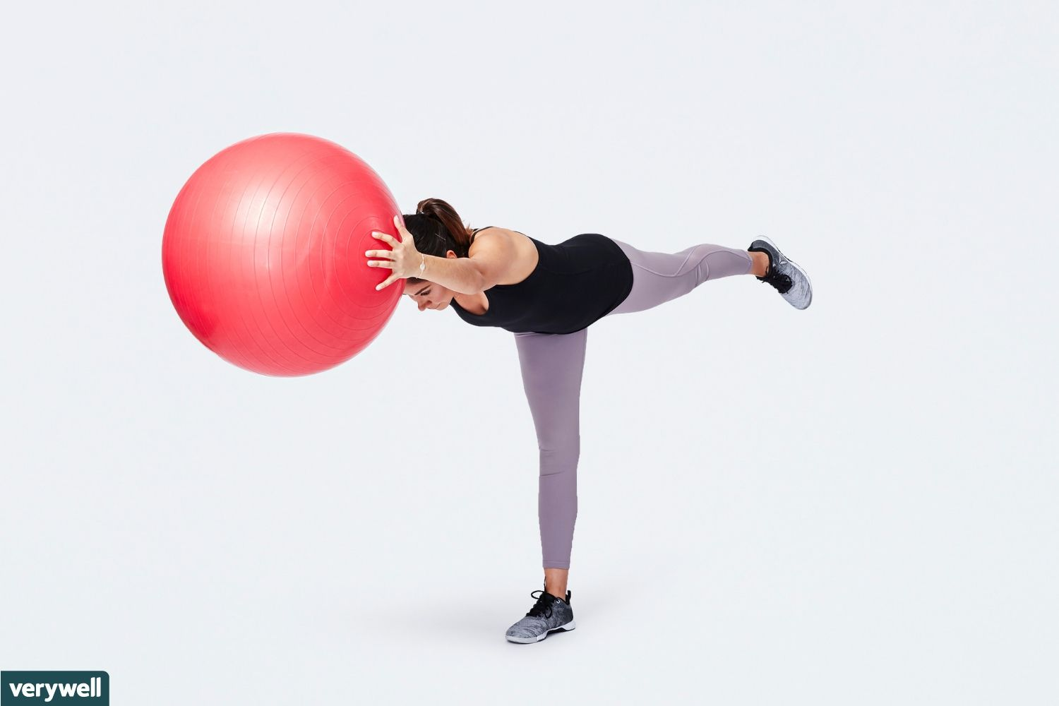 Exercise Ball Stretches for Balance and Stability