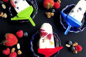 breakfast yogurt pops