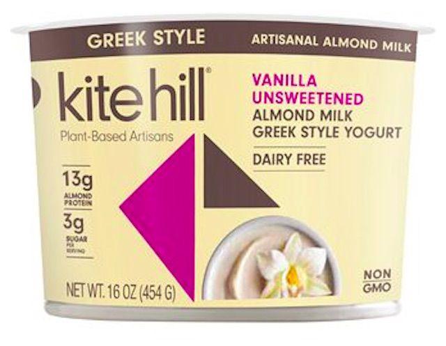 Kite Hill Leche de almendras artesanal estilo griego Yogur griego Vainilla sin azúcar