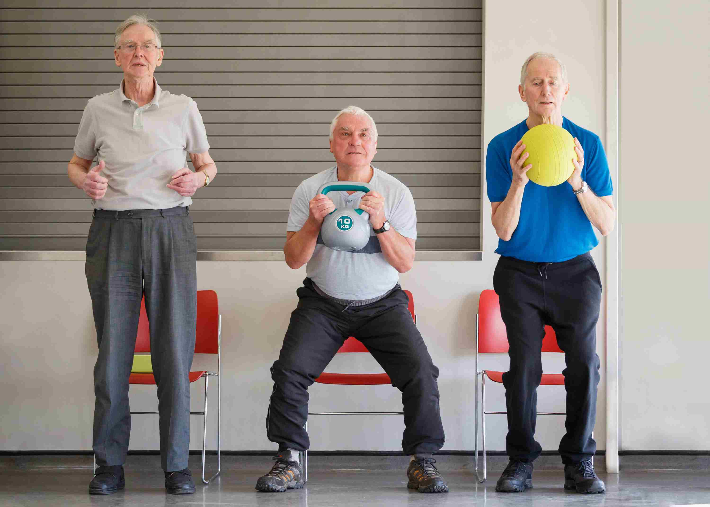 10 Chair Exercises for Seniors