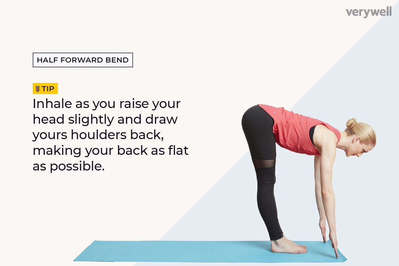 Half Forward Bend (Ardha Uttanasana)