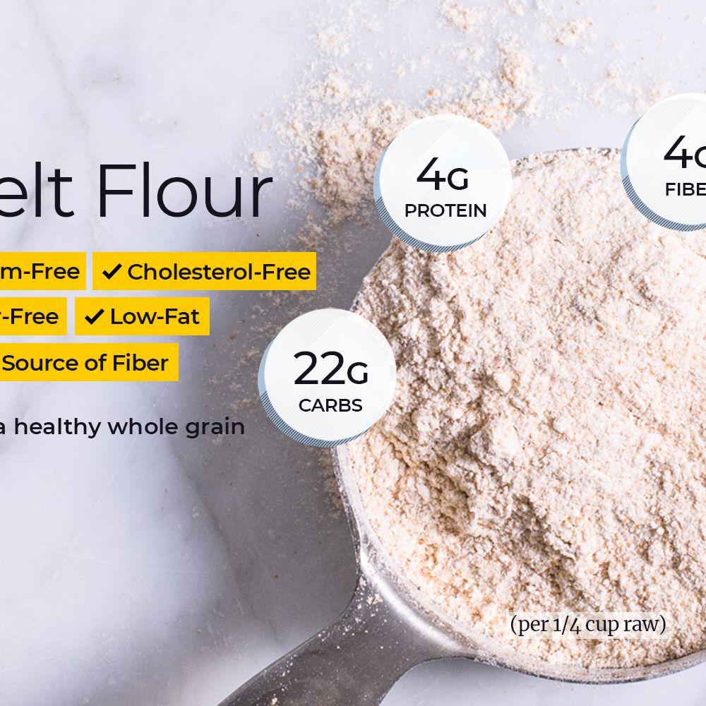 Spelt Flour Nutrition Facts: Calories, Carbs, and Health