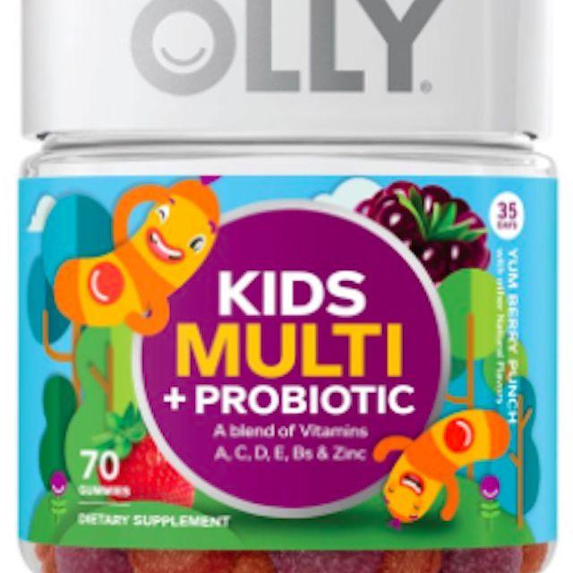 Multi + probiótico para niños de Olly