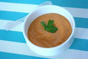 curried kabocha soup