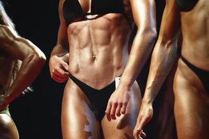 Body fitness competition