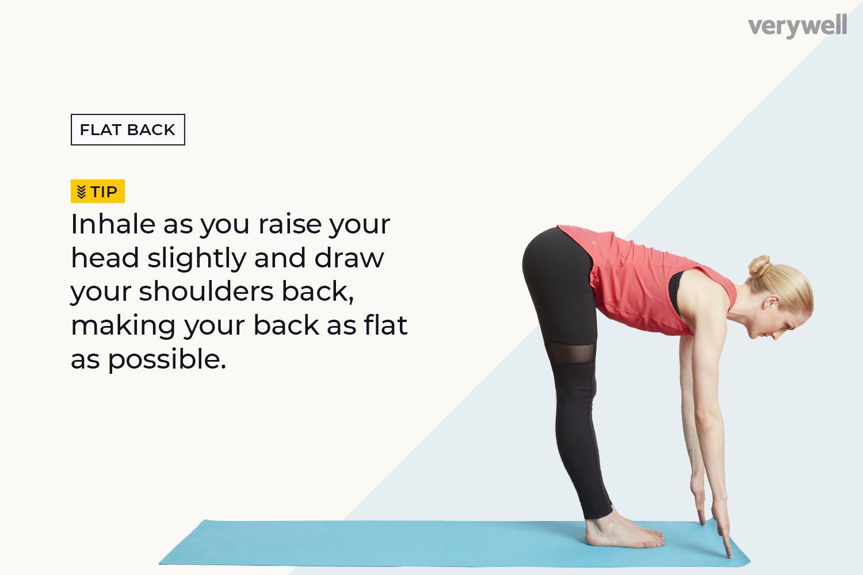Step or Jump to a Forward Bend (Flat Back)