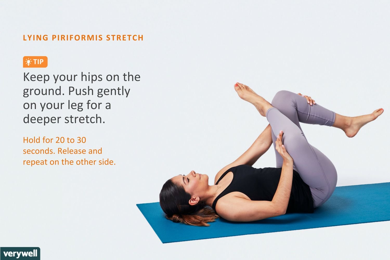 The Advanced Piriformis Stretch Is A Great Hip Opener