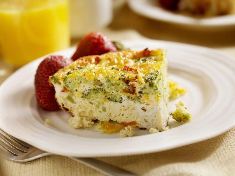 Cheese and Broccoli Frittata