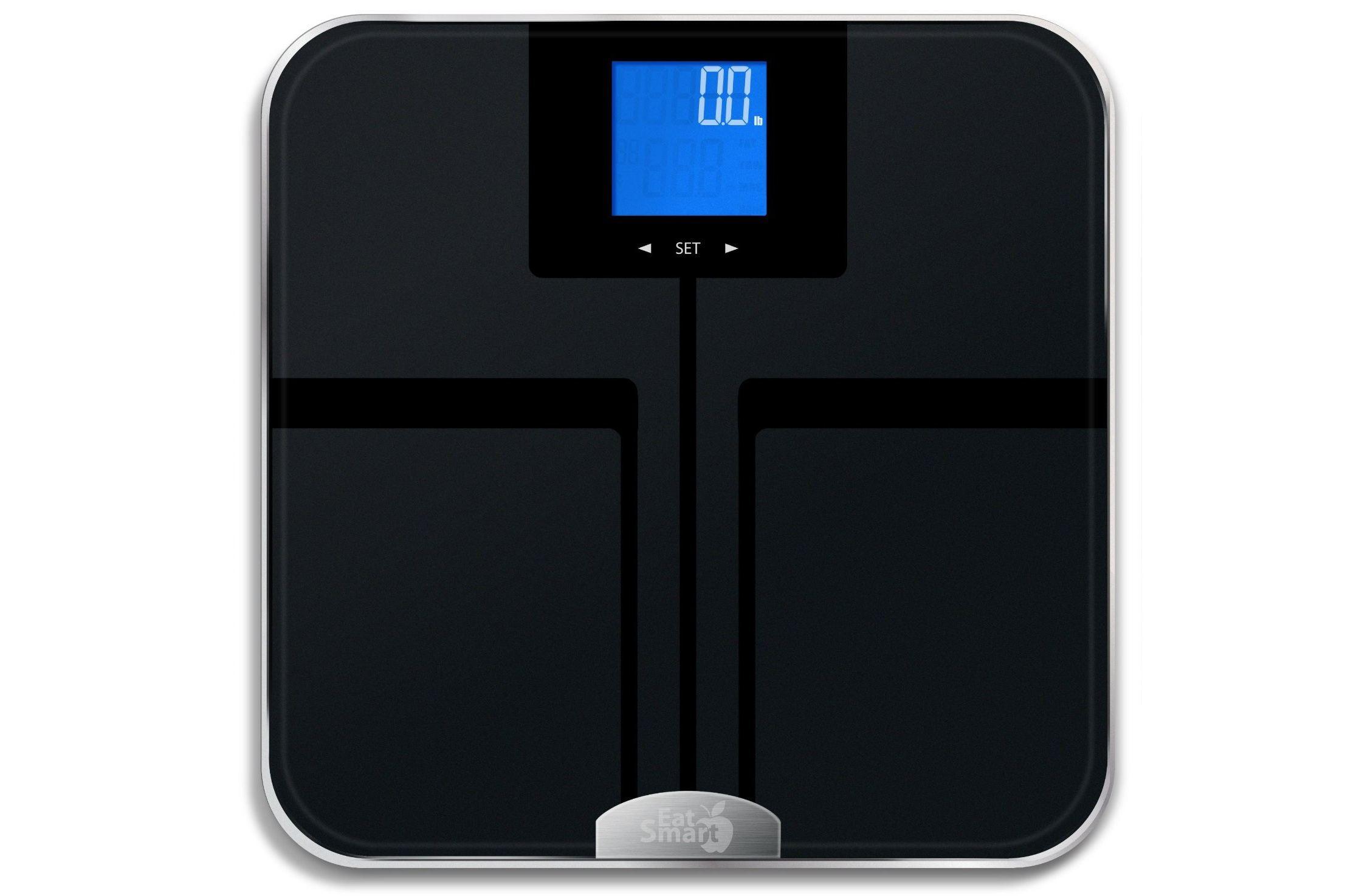 Escala de grasa corporal digital EatSmart Precision GetFit