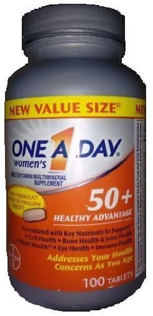 One A Day Women's 50+ Healthy Advantage Multivitamins