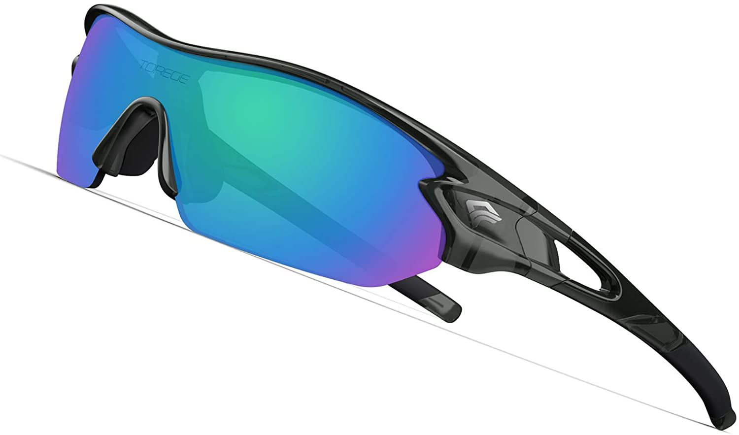 Torege Polarized Sunglasses With Interchangeable Lenses