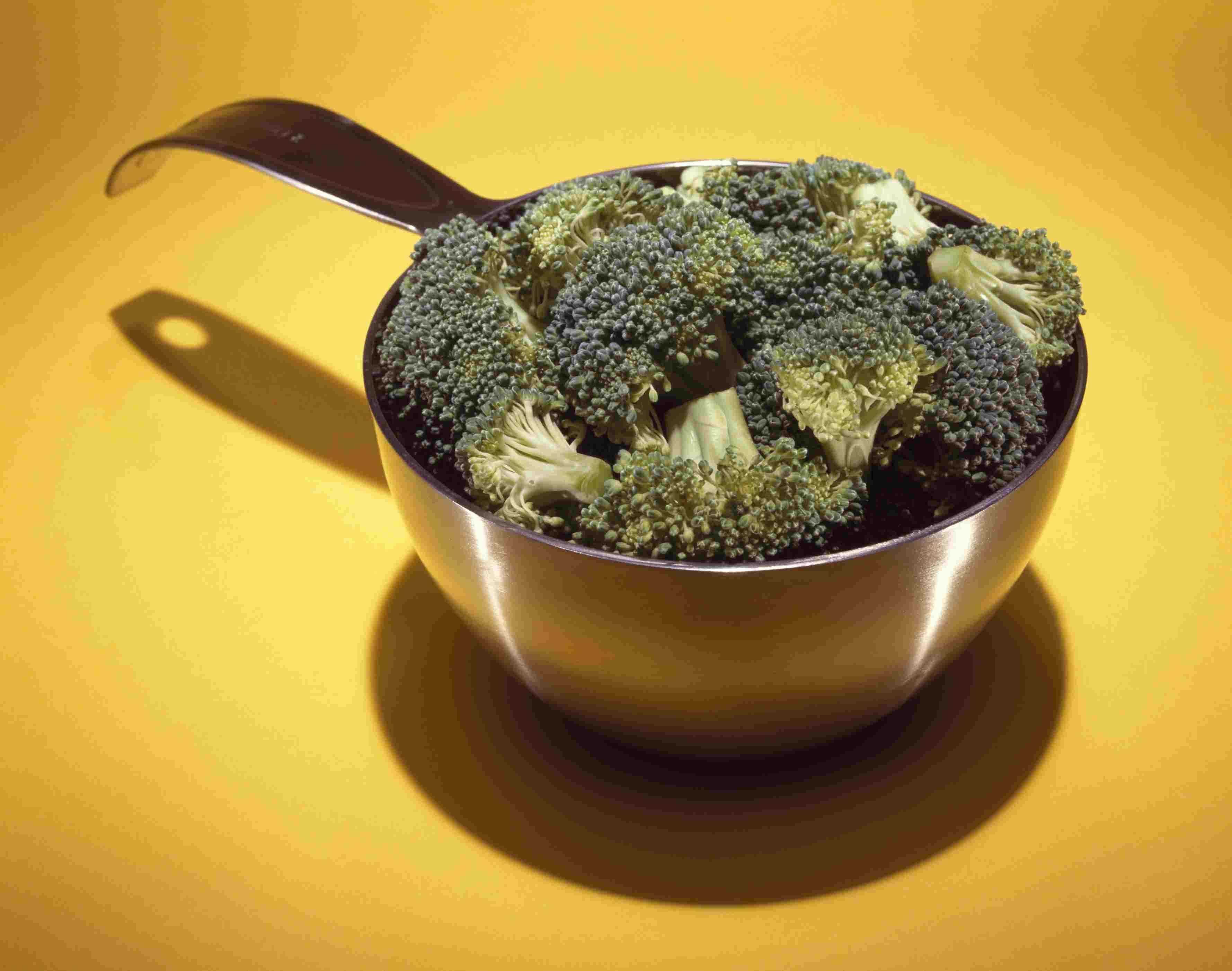 porción de brócoli