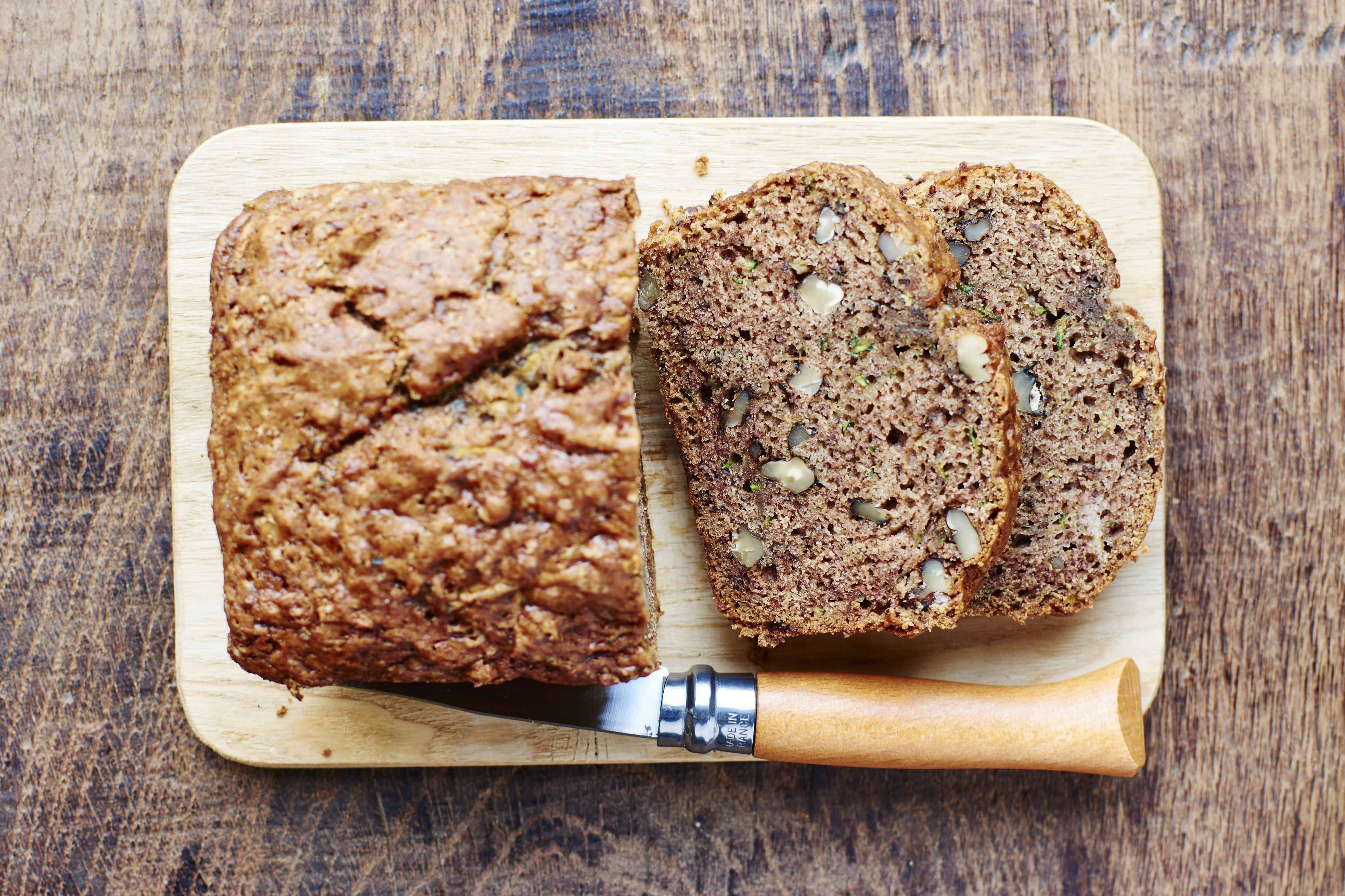 gluten free lower carb banana bread recipe