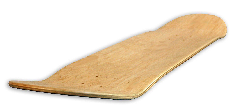 Tabla de skate en blanco