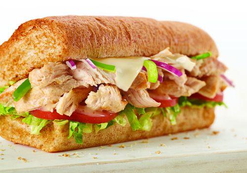 un sándwich de metro