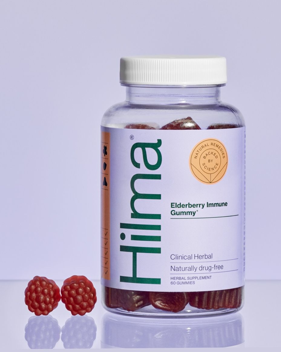 Hilma Elderberry Immune Gummies