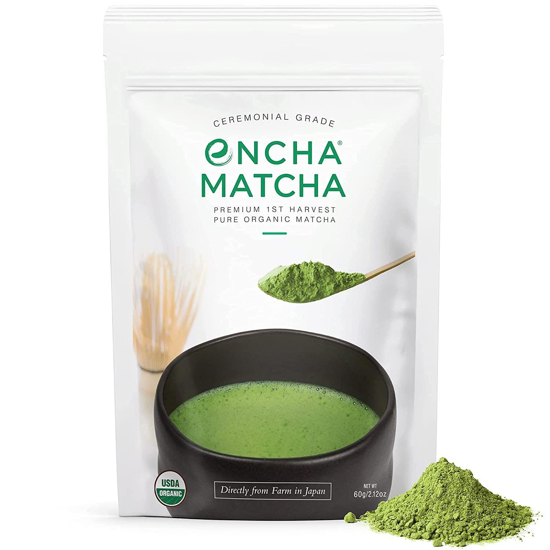 Encha Ceremonial Grade Organic Matcha Green Tea