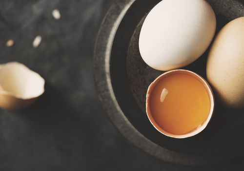 Egg yolk is a source of choline