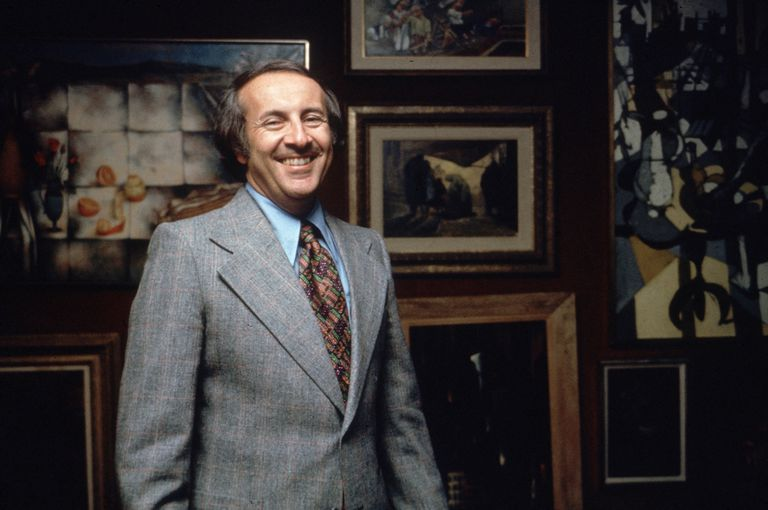 Portrait of doctor Robert Atkins from the '70s