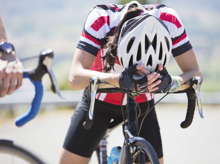 Bonk atau tiba-tiba lemas pada saat bersepeda