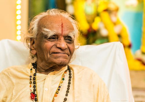 B.K.S. Iyengar in 2012