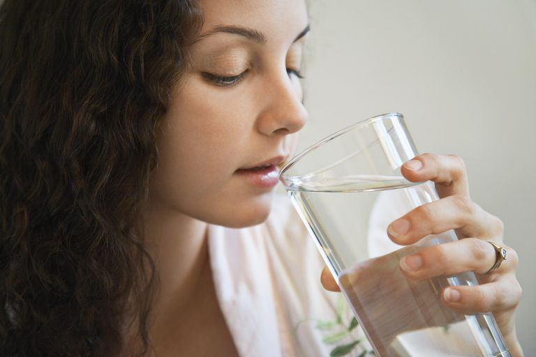 Drinking water may help you lose weight.