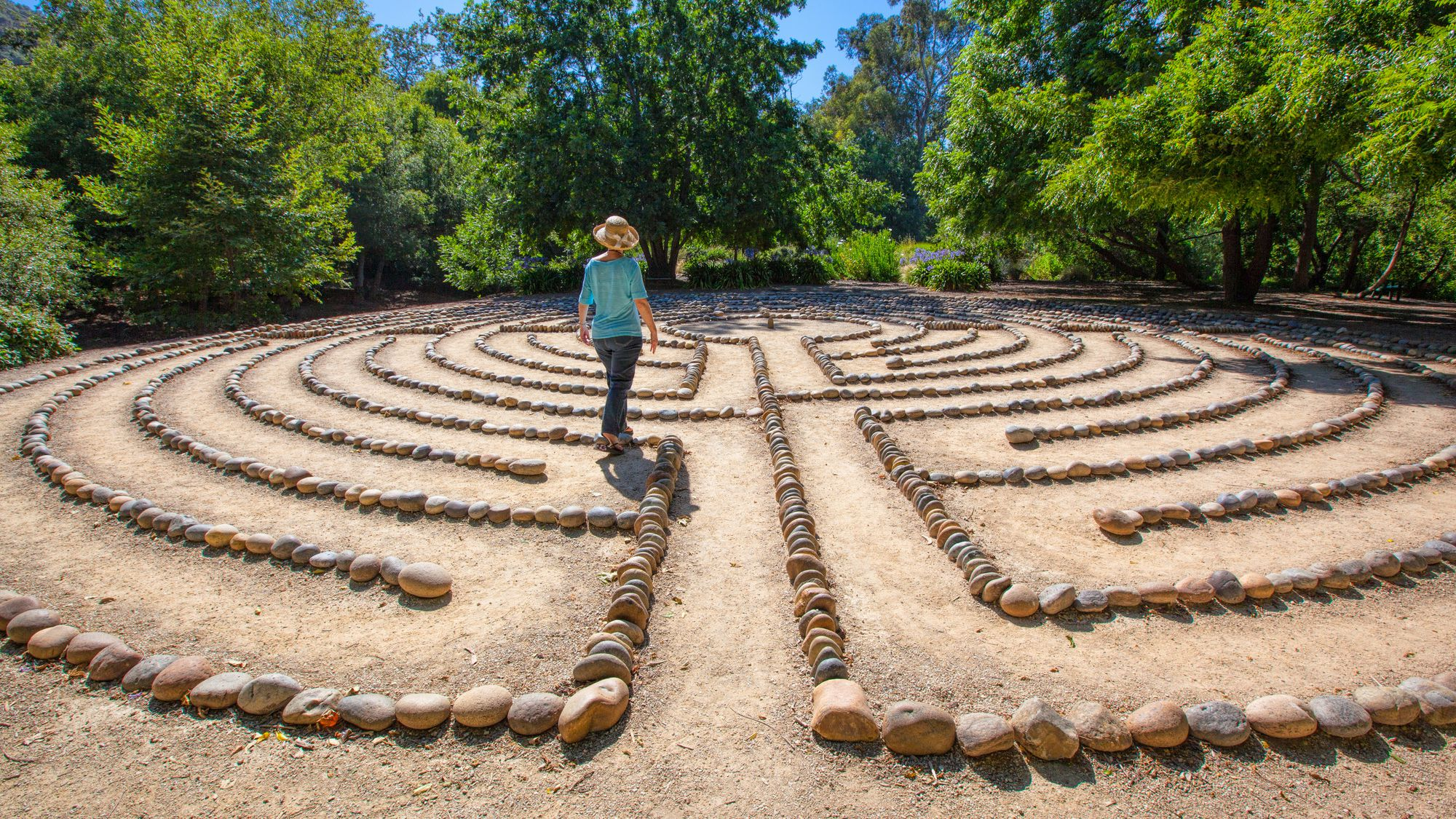 Walking a Labyrinth as Spiritual Exercise