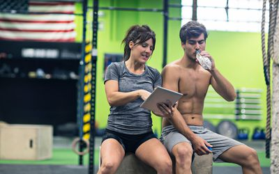 CrossFit: A Serious Exercise Challenge images