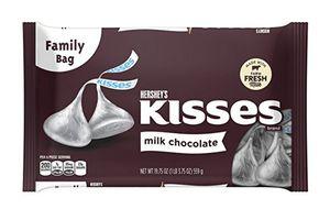 Hershey plain Kisses