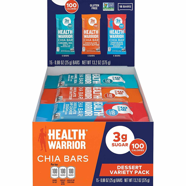 Health Warrior Chia Bars Best Seller Variety Pack