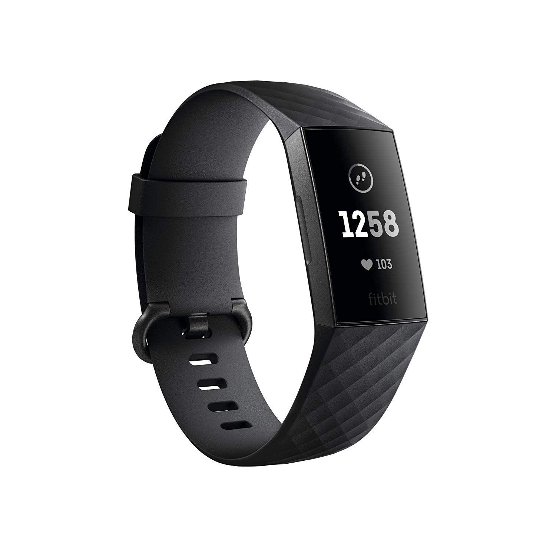 Monitor de actividad física Fitbit Charge 3