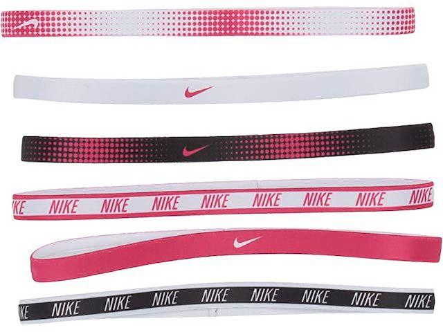 Paquete de 6 cintas para la cabeza con estampado Nike