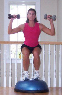 bosu ball total body workout