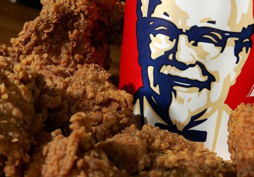 Información nutricional de KFC
