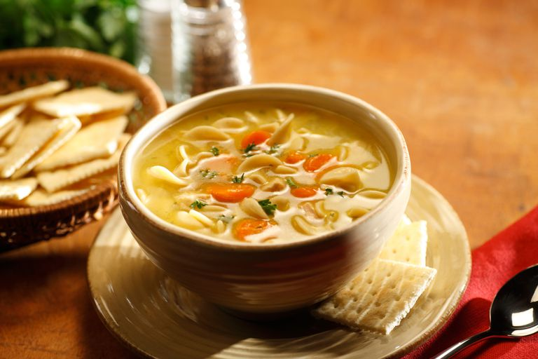 Heartburn-Friendly Chicken Noodle Soup Recipe