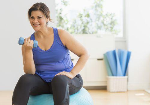Las mujeres con sobrepeso reciben ayuda para perder peso