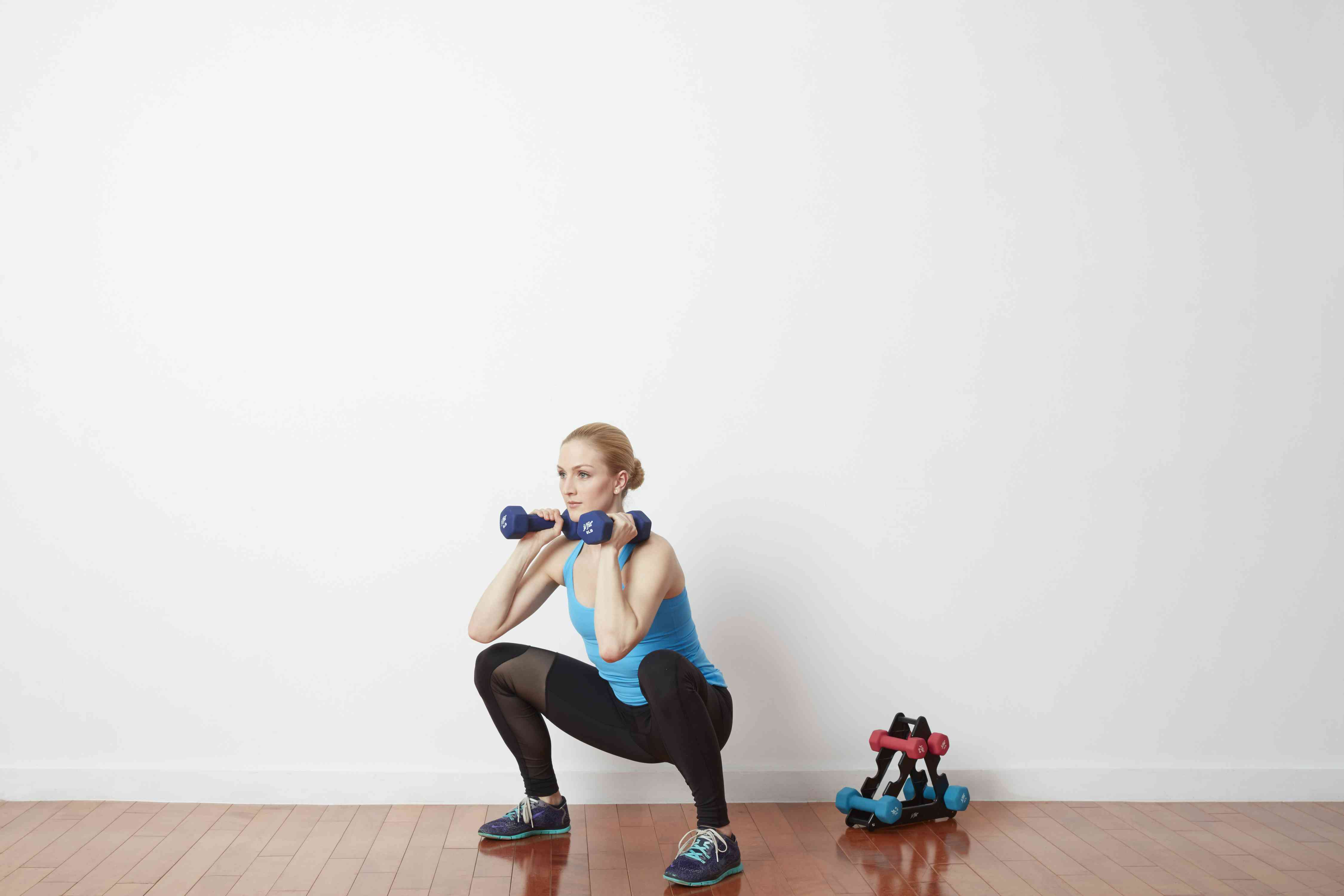Enhanced Beginner Total Body Strength Workout Superset Get Results Even Faster With This Intense Circuit Squat Dumbbell