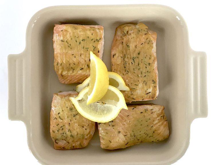 dijon thyme salmon