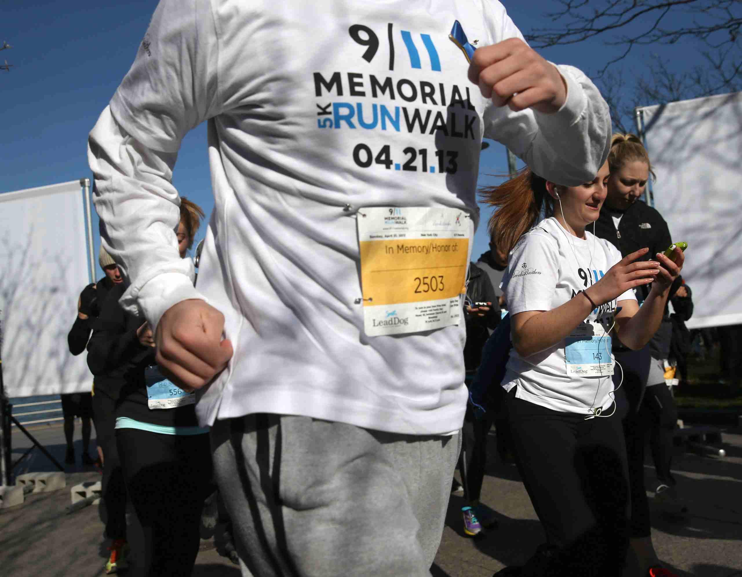 Walker at 5K Walk/Run