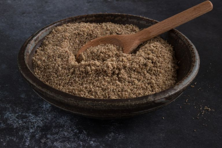 Flax Meal Peanut Butter Hot Cereal