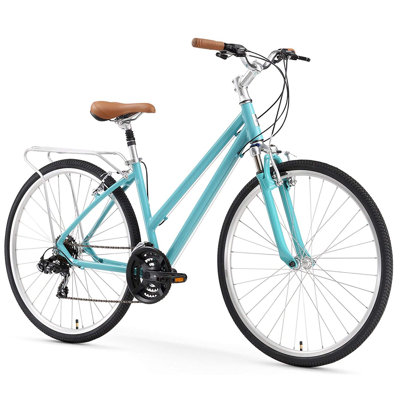 Bicicleta híbrida 6threezero Pave 'N Trail