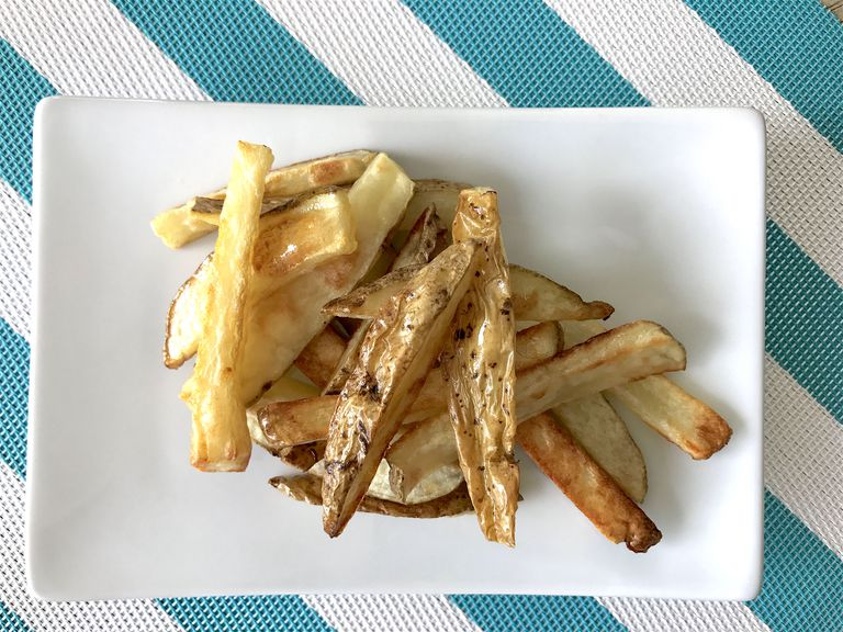 crispy baked fries