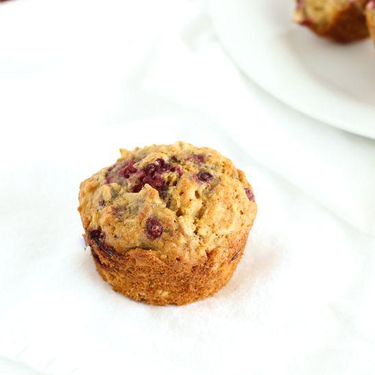 Raspberry Oatmeal Muffins Recipe