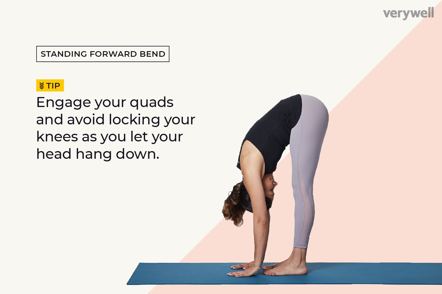 How to Do Standing Forward Bend (Uttanasana)