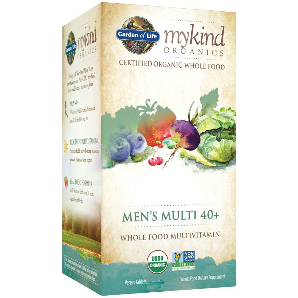 mykind Organics Whole Food Multivitamin for Men