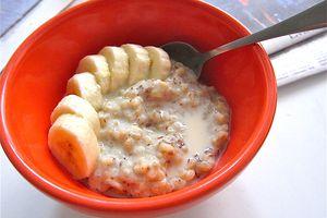 Vegan Banana Brown Rice Porridge