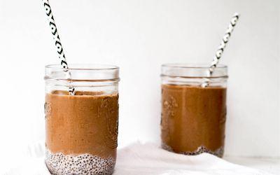 chia chocolate smoothie