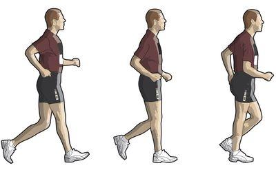 Racewalking Sequence