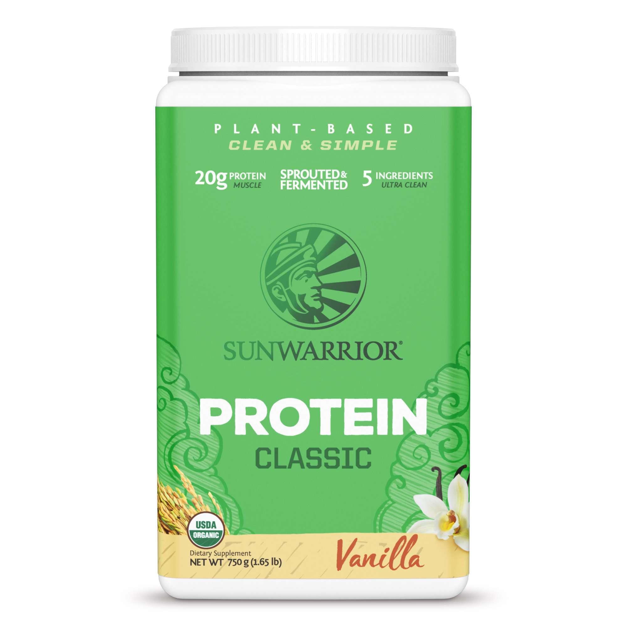 Sunwarrior Organic Brown Rice Protein Vanilla